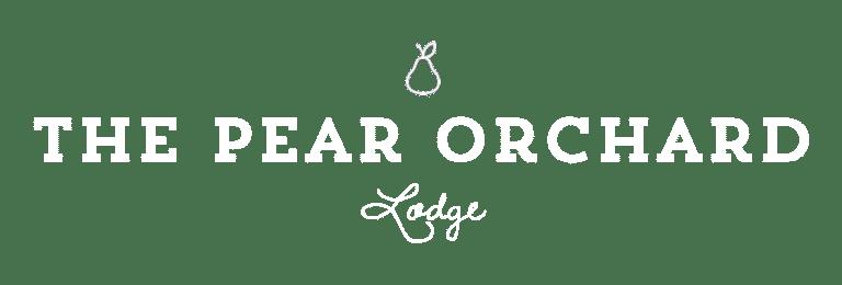 Lodge logo white
