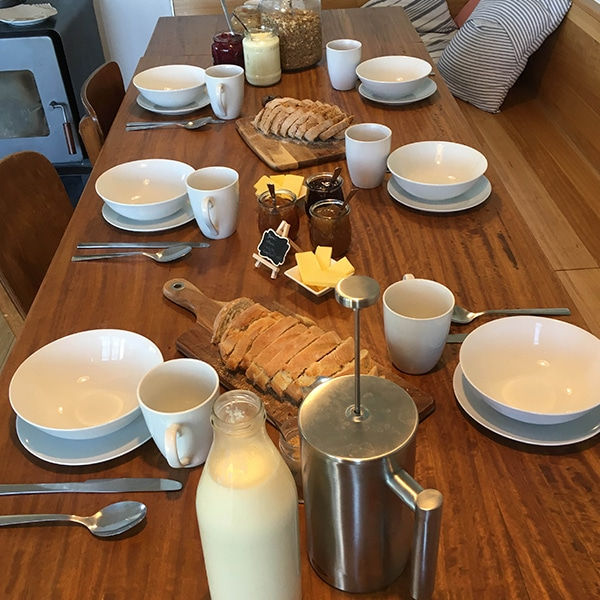 Affordable hotel b&b farmstay accommodation The Pear Orchard Lodge